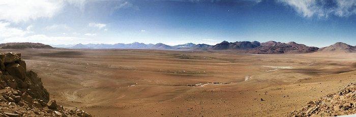 Desert from above