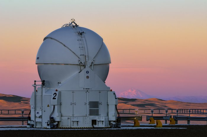 A lonely Auxiliary Telescope