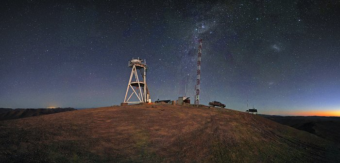Starry Night at Cerro Armazones