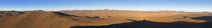 Panoramic view from Paranal
