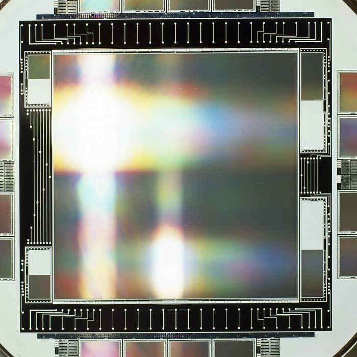 CCD for VLT Test Camera