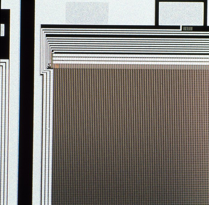 CCD Wafer Detail