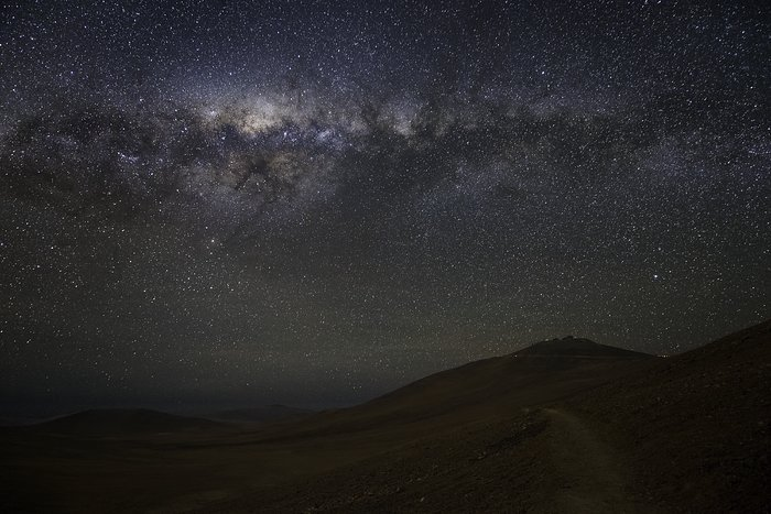 Paranal beneath the Milky Way