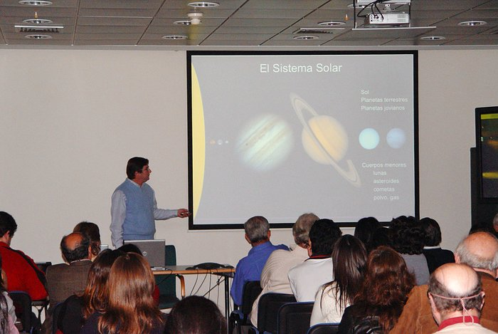 Public talk at Vitacura