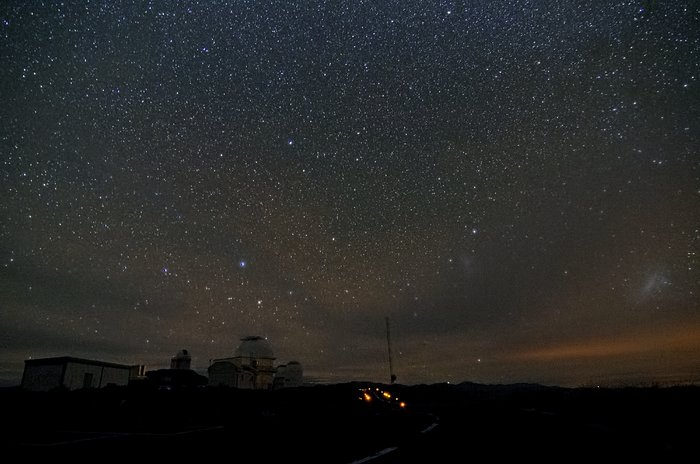 Night sky at La Silla