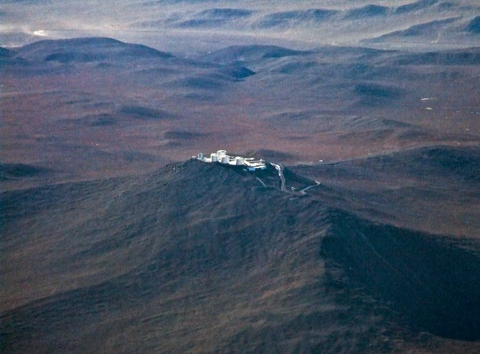 Paranal from the Air