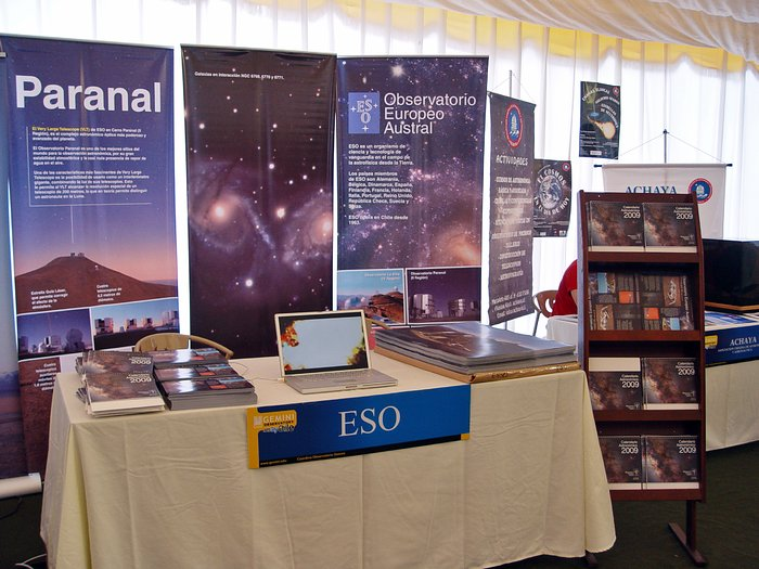 ESO at AstroDay 2009