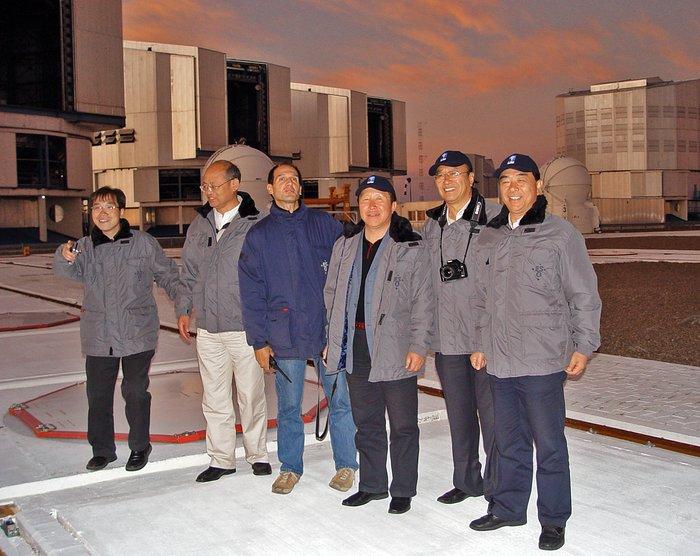 Chinese Delegation visits Paranal