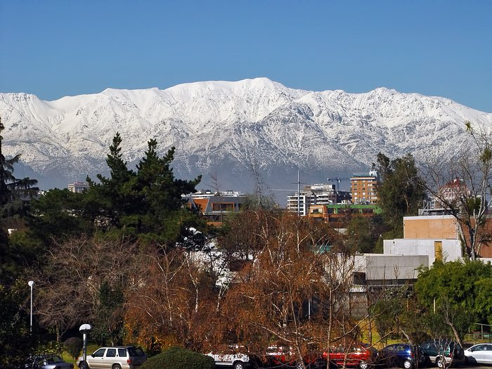Santiago in winter