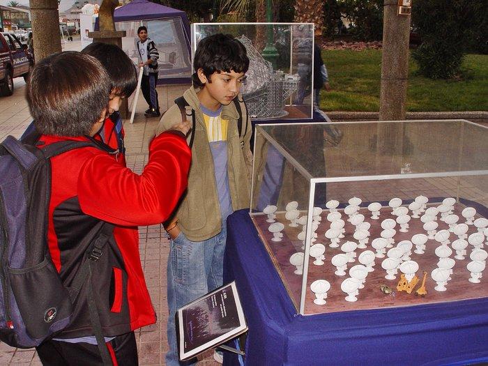 ESO exhibition in Taltal