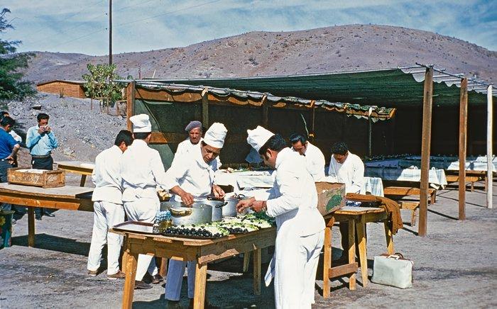 Life at La Silla, early 1970s