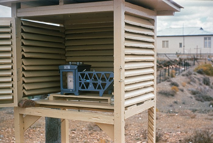 Site testing weather station in South Africa