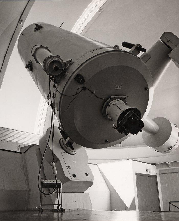 The ESO 1.52-metre telescope at La Silla