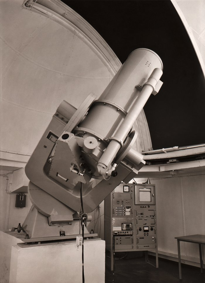 The ESO 0.5-metre telescope