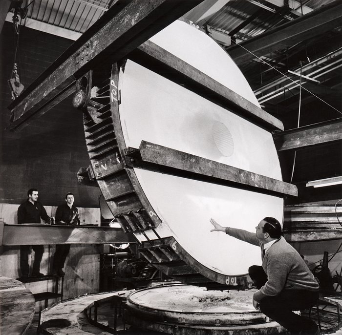 The ESO 3.6-metre telescope main mirror