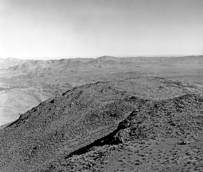 Vue over La Silla 1964