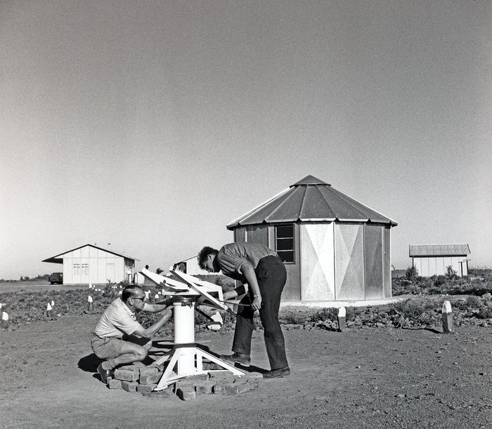 Danjon telescope at the Zeekoegat Station