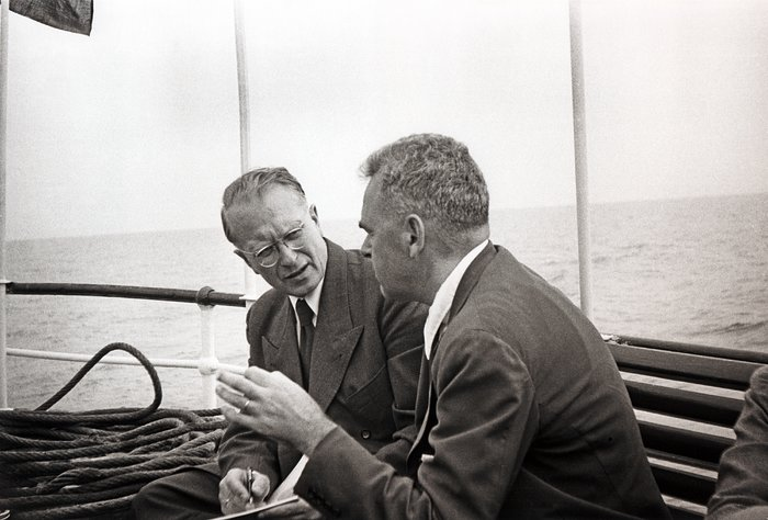 1953 participants of the Groningen conference aboard the MS Alkmaar
