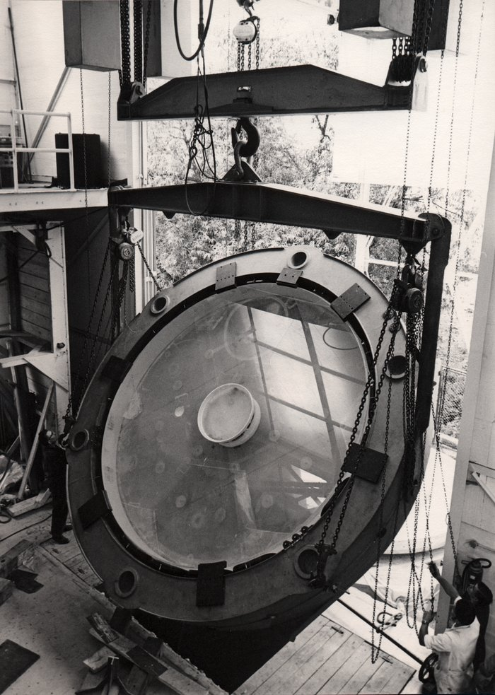 Making the ESO 3.6-metre telescope M1 mirror