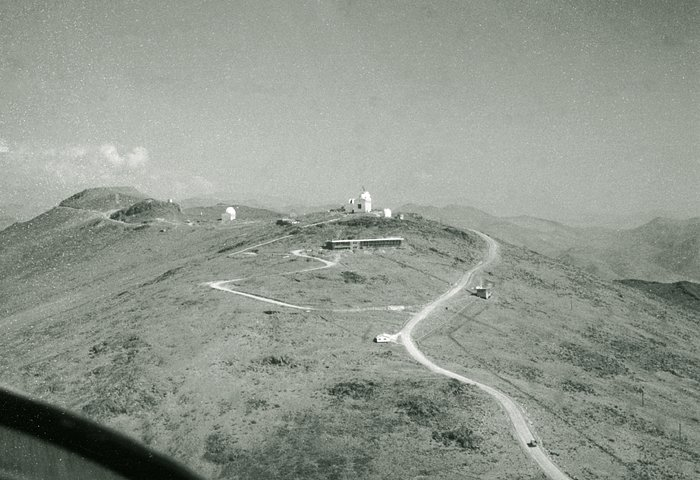 Aerial View of La Silla