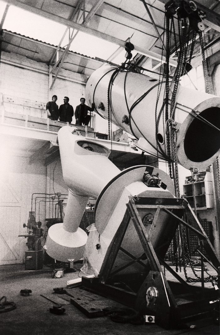 The ESO 1.52-metre telescope