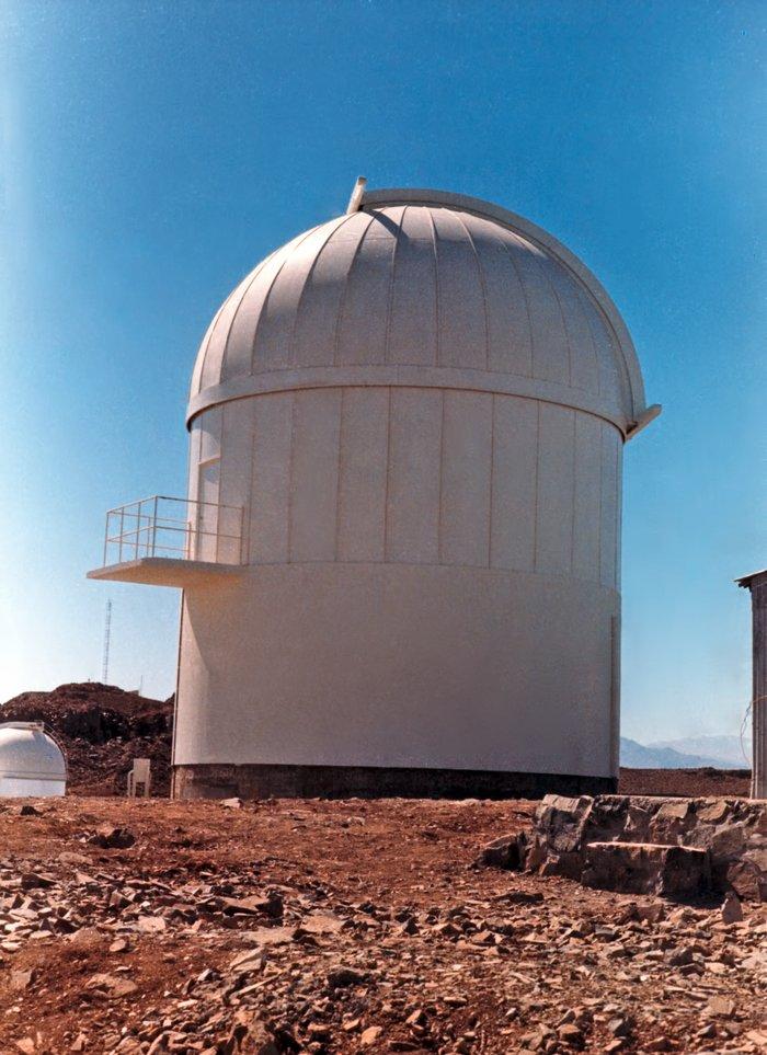 Dome of the Grand Prisme Objectif telescope