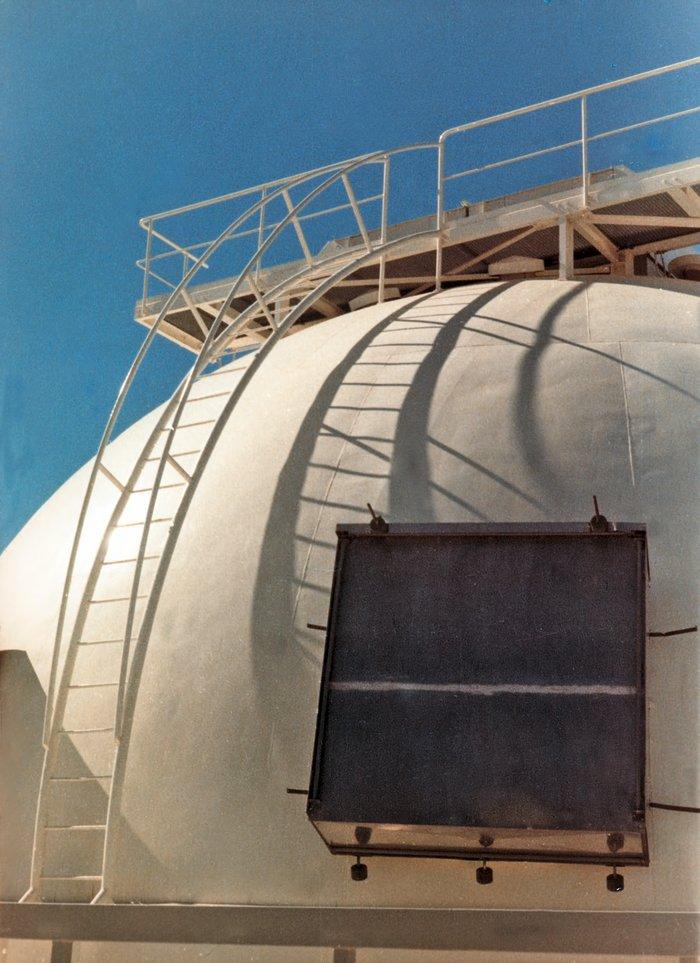Dome of the ESO 1-metre telescope
