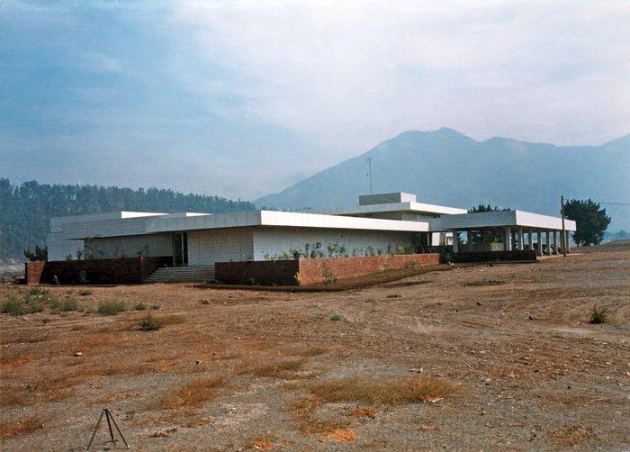 The Vitacura building