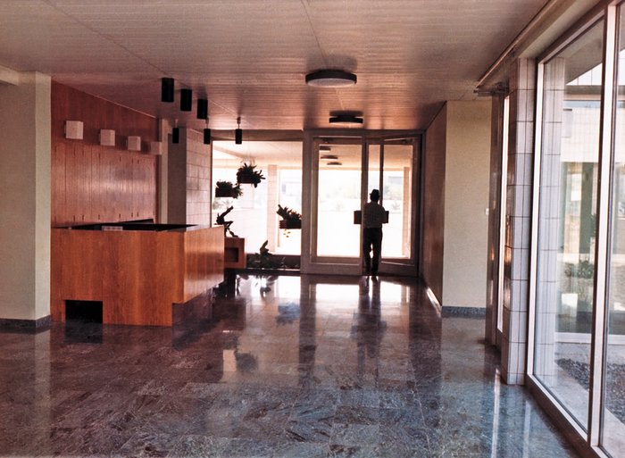 ESO Vitacura Offices in 1969