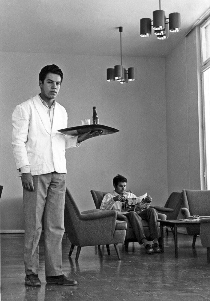 Life at La Silla, in 1969