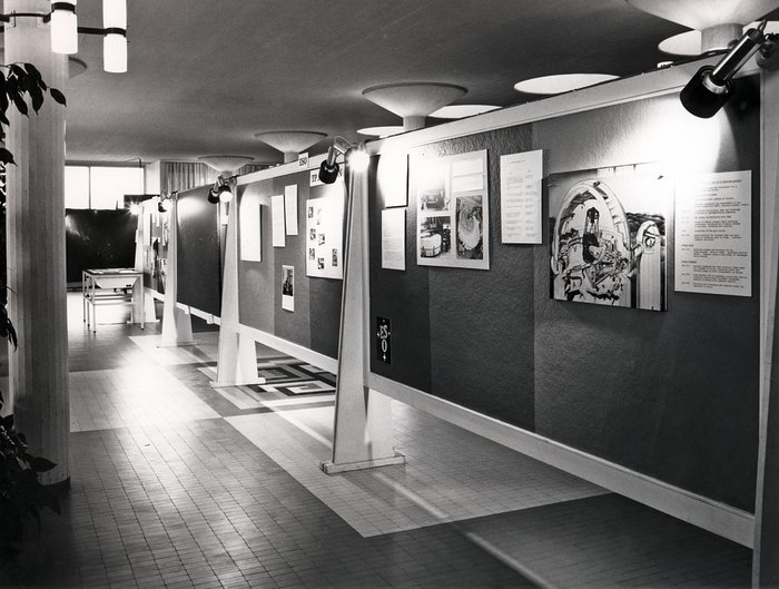 ESO exhibition in 1973