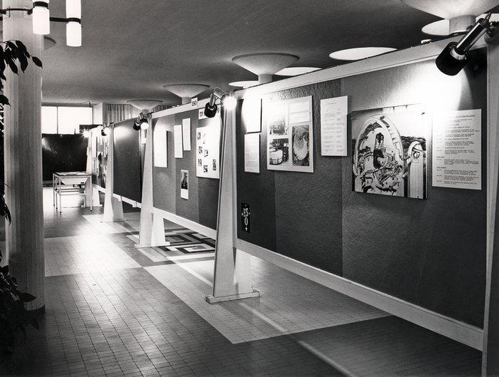 ESO exhibition in 1973