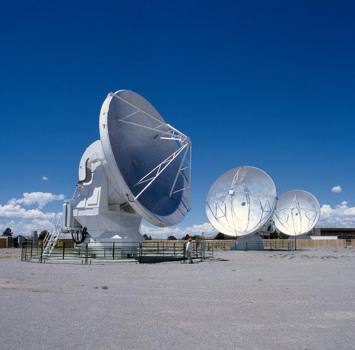 Antennas for ALMA at the Antenna Test Facility (ATF)