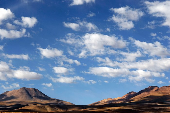 Atacama Desert near ALMA