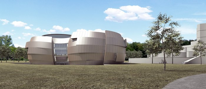 The new planetarium and visitor centre at ESO Headquarters