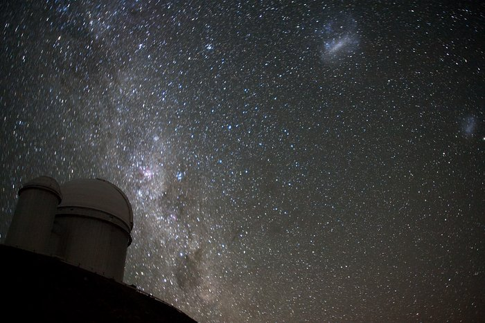 The Magellanic Clouds over the ESO 3.6-metre telescope