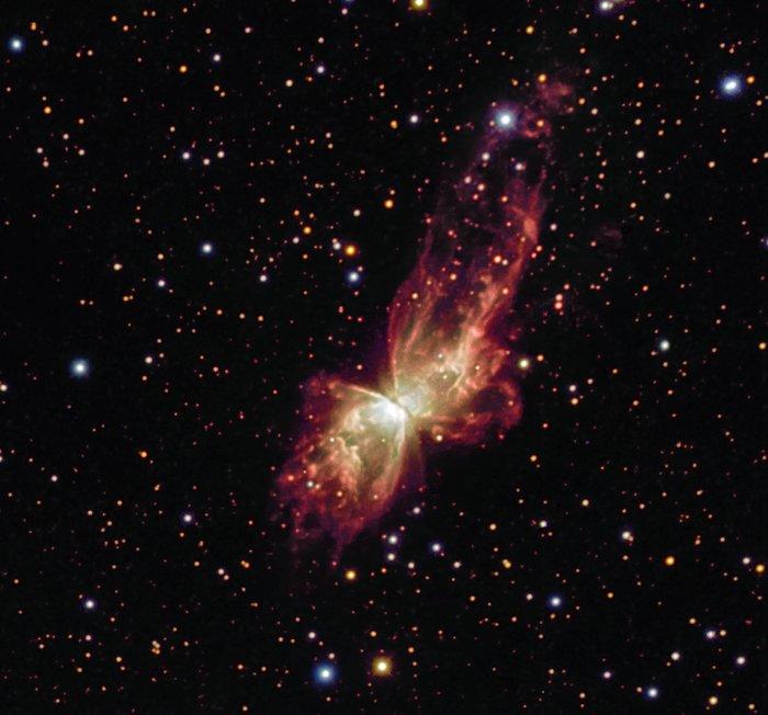 Cosmic Butterfly