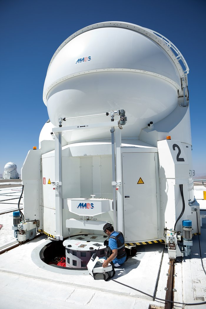 Auxiliary Telescopes at the VLT
