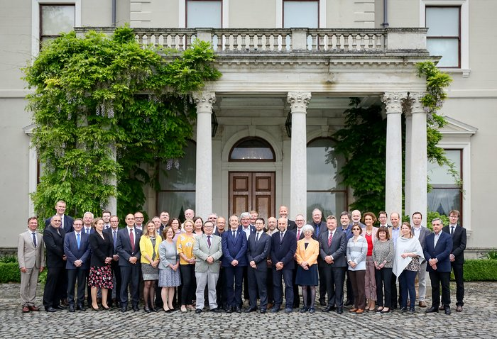 The ESO Council at its 150th Meeting