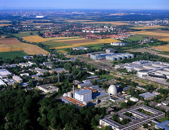 Aerial View of ESO Headquarters in Garching near Munich
