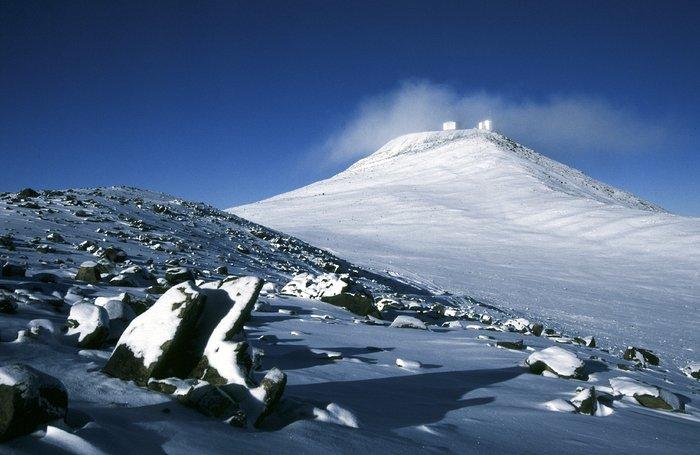 Paranal bajo la nieve