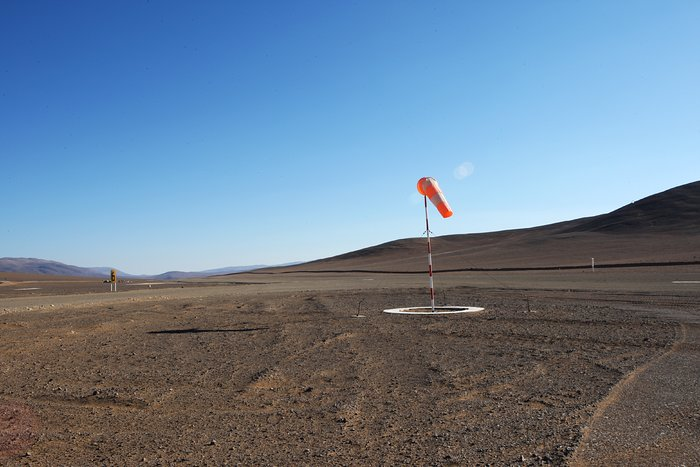 Paranal air strip