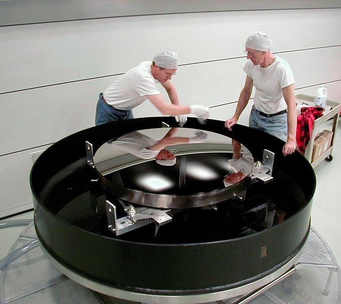 VLT M2 Beryllium mirror