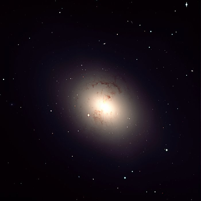 Giant elliptical galaxy NGC 1316 in Fornax Cluster