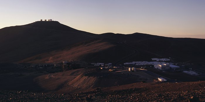 Paranal at Sunset