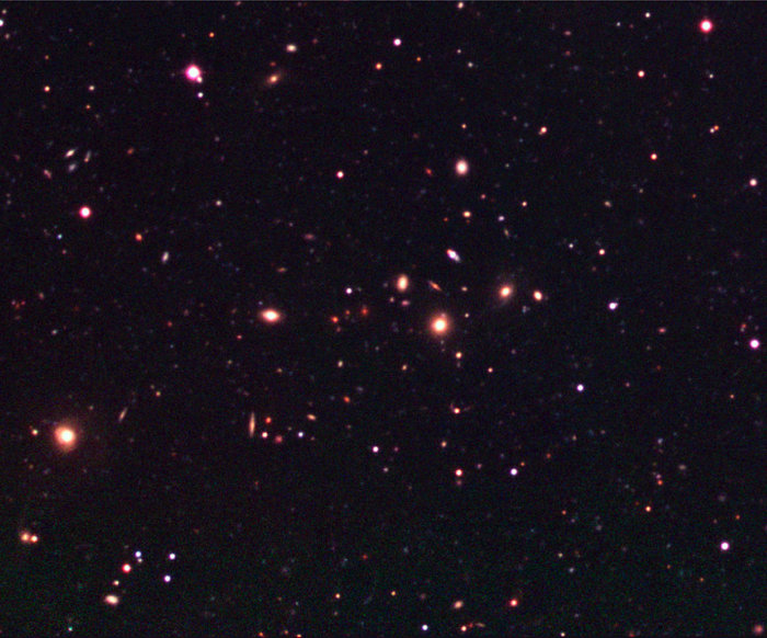 Galaxy Cluster in the Capodimonte Deep Field
