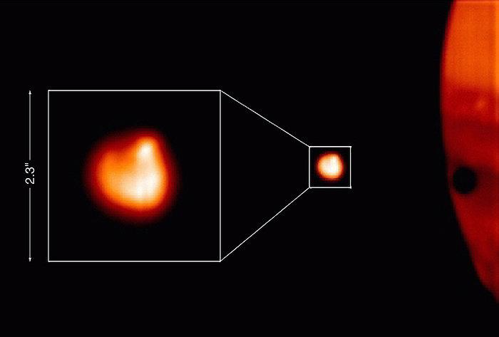 Tvashtor hotspot on Io