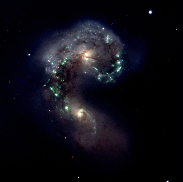 The Antennae Galaxies - NGC4038/9