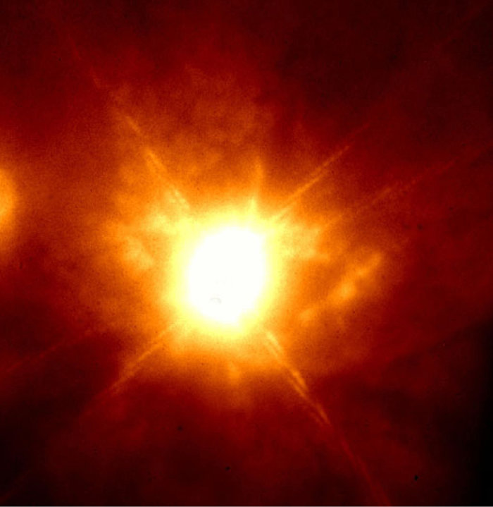 K-band image of the unstable star Eta Carinae