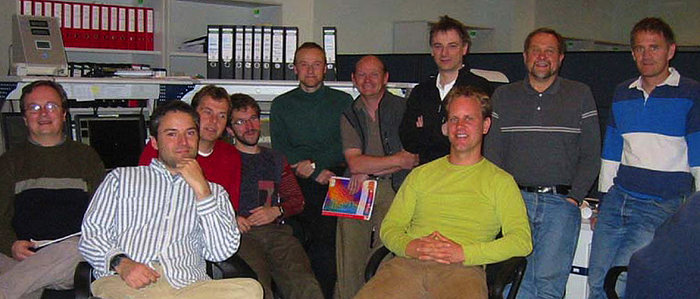 Members of the SINFONI Adaptive Optics Module Commissioning Team
